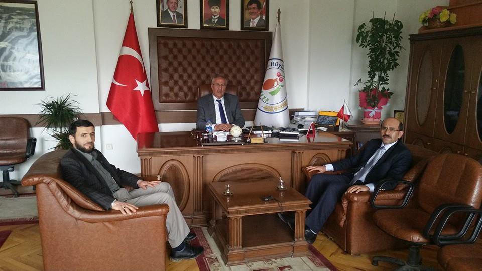 Hüyük Belediye Başkanı Mehmet Şahin