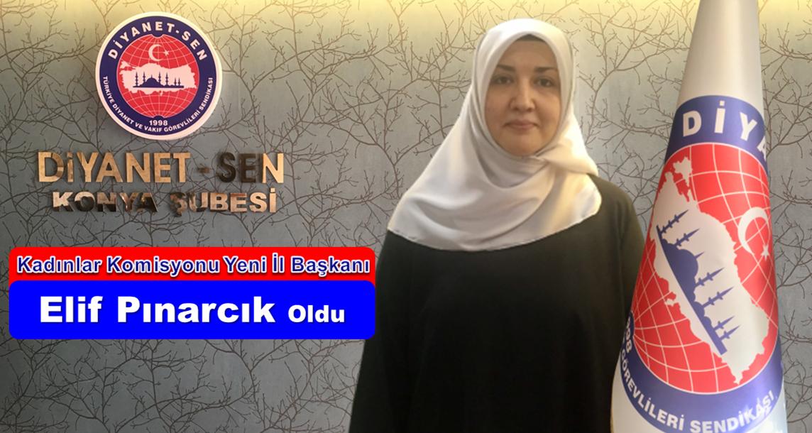Kadınlar Komisyonu Yeni İl Başkanı Elif Pınarcık Oldu