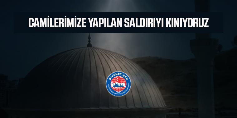 İzmir'de Camilerimize Yapılan Saldırıyı Kınıyoruz