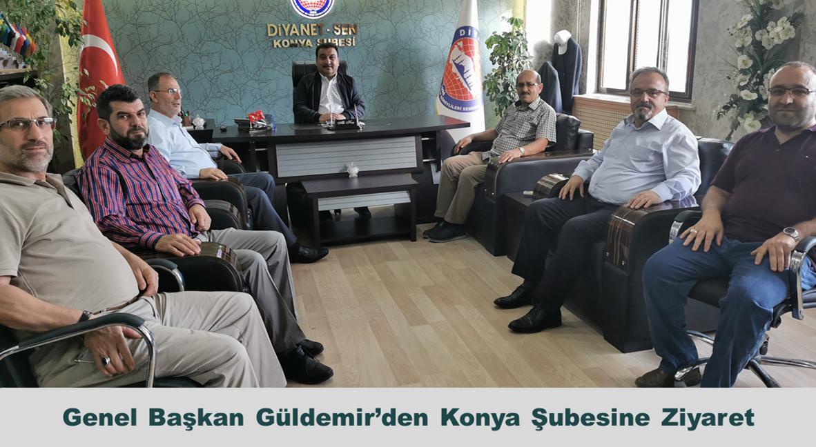 Genel Başkan Güldemir'den Konya Şubesine Ziyaret